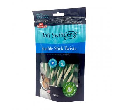 Tail Swingers Dental Double Stick Twists 100gr