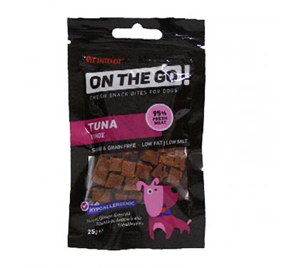 On The Go Tuna Bites Λιχουδιές με Τόνο 25gr