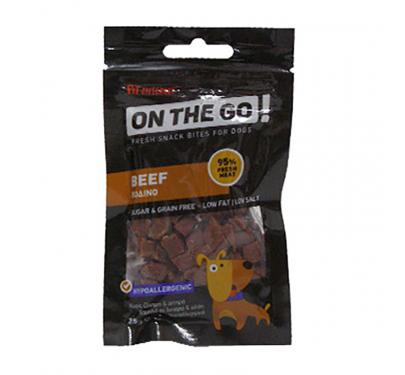 On The Go Beef Bites Λιχουδιές με Βοδινό 25gr