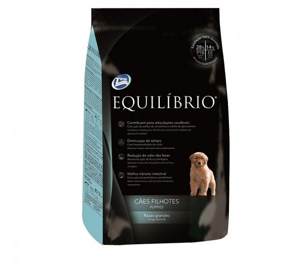 Equilibrio Puppies Large Breed 15kg