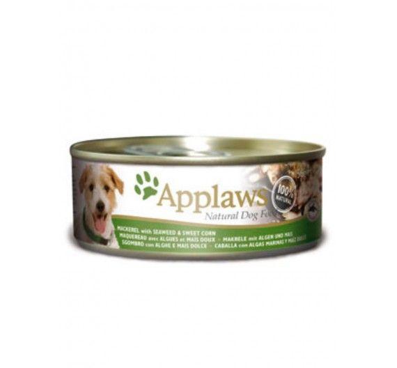 Applaws Σκουμπρί, Φύκια & Γλυκό Καλαμπόκι 16x156gr