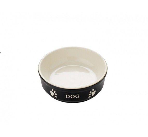 Nobby Κεραμικό Μπωλ Dog Μαύρο