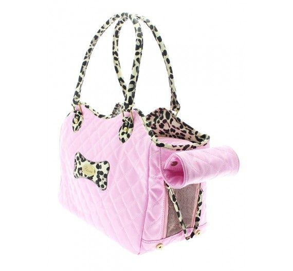 Τσάντα Μεταφοράς Σκύλου Patent Pink