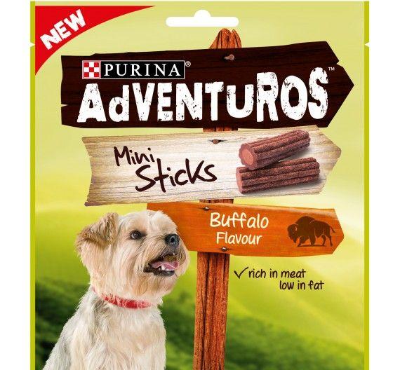 Purina Adventuros Mini Sticks Bufalo 90gr