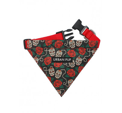 Μπαντάνα Σκύλου Skull & Roses