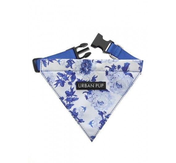 Μπαντάνα Σκύλου Blue Floral