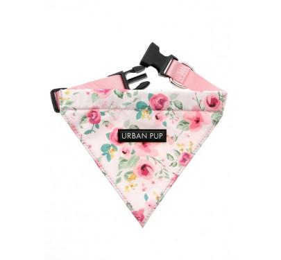Μπαντάνα Σκύλου Pink Floral