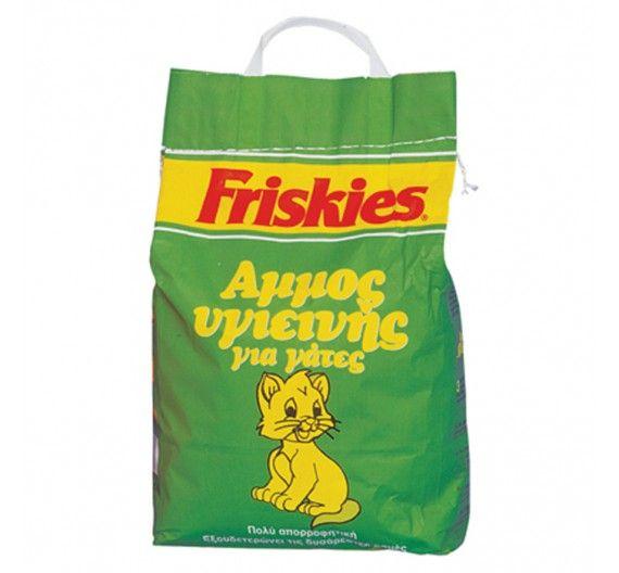 Friskies Άμμος για Γάτες χωρίς Άρωμα 5kg