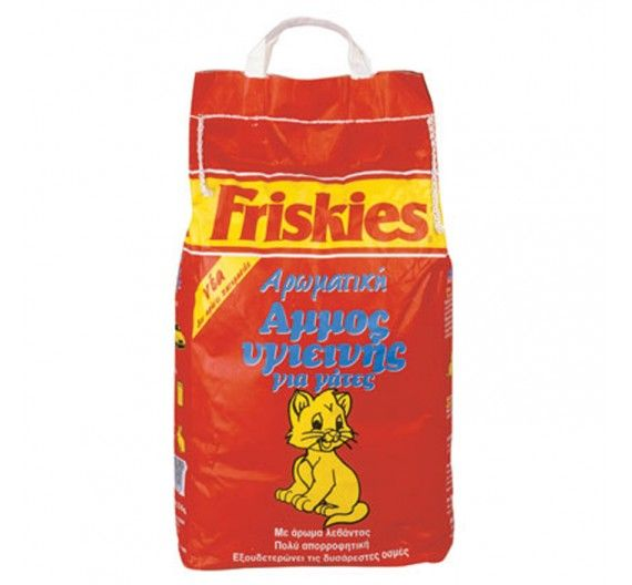 Friskies Άμμος για Γάτες με Άρωμα 5kg