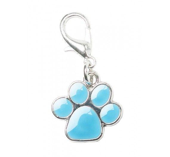 """Κόσμημα σκύλου Σμάλτο """"Γαλάζια Πατούσα"""""""