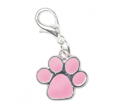 """Κόσμημα σκύλου Σμάλτο """"Ροζ Πατούσα"""""""
