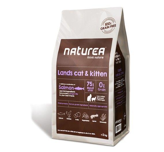 Naturea Grain Free Lands Cat & Kitten 350gr