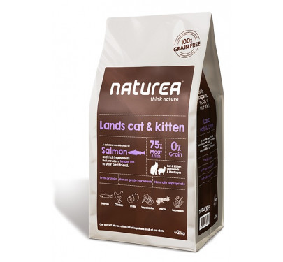 Naturea Grain Free Lands Cat & Kitten 2Kg