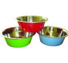 Πιάτο Ανοξείδωτο Γαβάθα Χρωματιστό 2,8lt 23cm