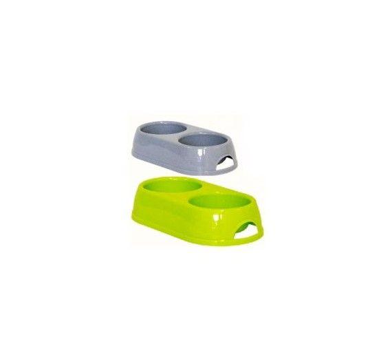 Διπλό Πλαστικό Μπoλ Γεύματος 2x570ml