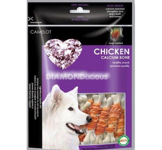 Pet Camelot Σνακ Κόκκαλο Ασβεστίου με Κοτόπουλο 100g