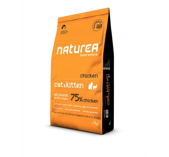 Naturea Naturals Cat & Kitten Chicken 7kg