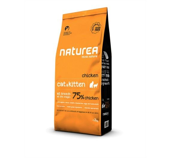 Naturea Naturals Cat & Kitten Chicken 2kg