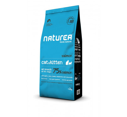 Naturea Naturals Cat & Kitten Salmon 2kg