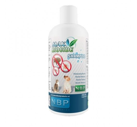 Natural Best Products Max Biocide Σαμπουάν 200ml