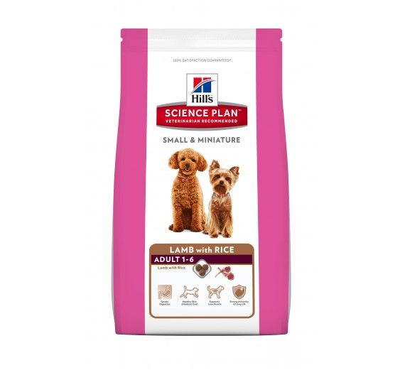 SP Canine Adult Small & Miniature Lamb & Rice 300g