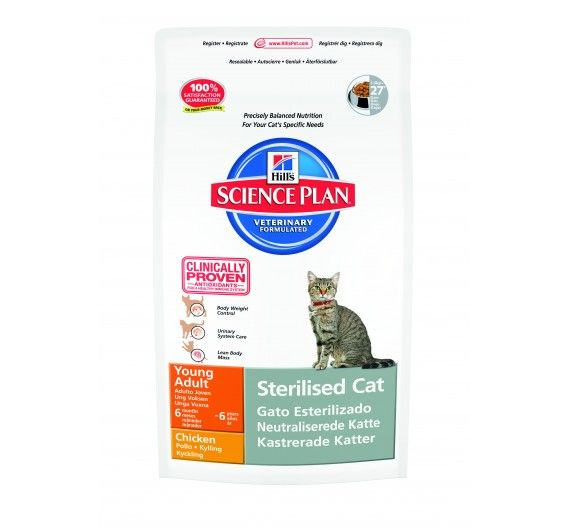 SP Feline Young Adult Sterilised Cat Chicken 1.5kg