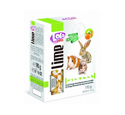 Lolo Pets Πέτρα Ασβεστίου Πορτοκάλι 190gr
