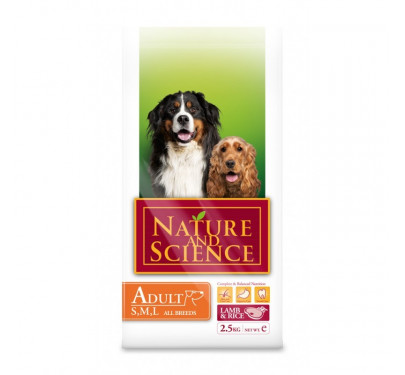 Nature & Science Adult Lamb & Rice 2.5kg