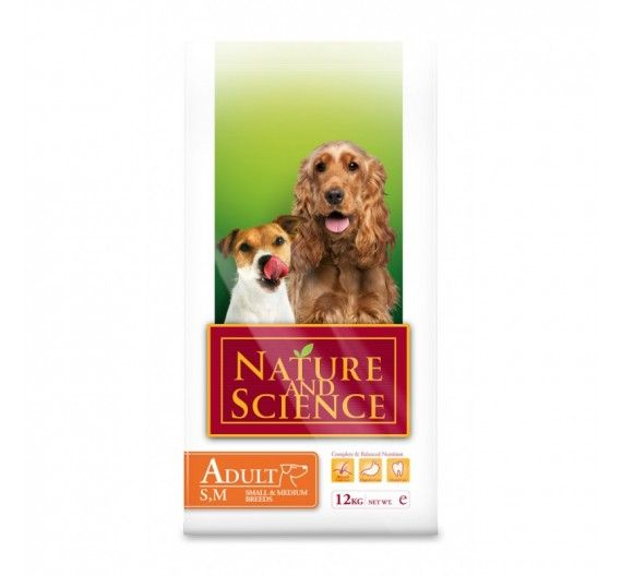 Nature & Science Adult Small Medium Breeds 2.5kg