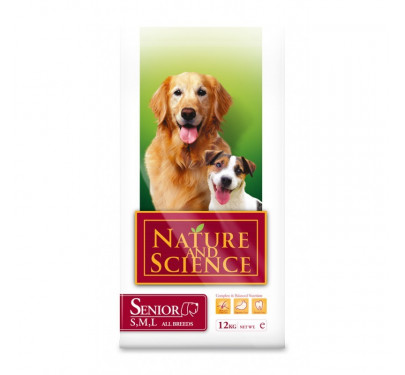 Nature & Science Dog Senior All Breeds 12kg