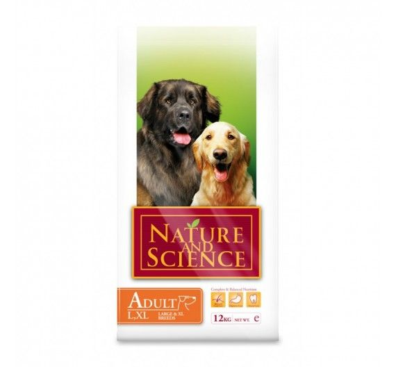 Nature & Science Adult Large - XL Breed 12kg