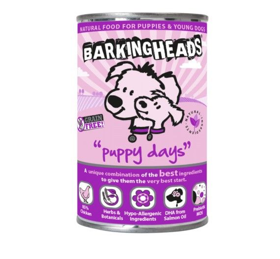 Barking Heads Puppy Days με Σολομό - 400g