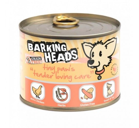 Barking Heads Tiny Paws Tender Loving Care Σολομός - 200g