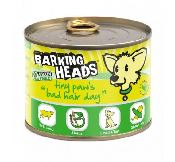 Barking Heads Tiny Paws Bad Hair Day Αρνί - 200g