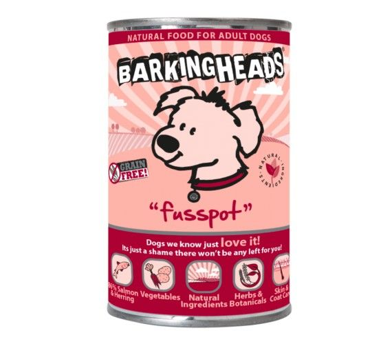 Barking Heads Fusspot Σολομός - 400g