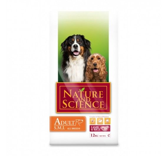 Nature & Science Adult Lamb & Rice 2.5kg