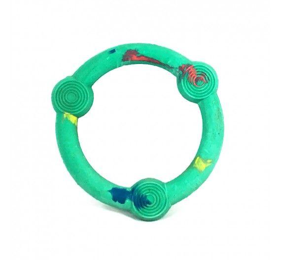 Λαστιχένιο Παιχνίδι Δαχτυλίδι με Κουδουνάκια 16cm