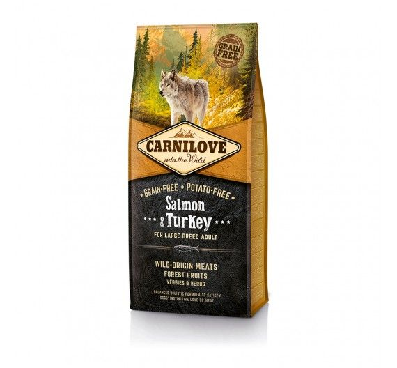 Carnilove Salmon & Turkey Large Breed Adult 1.5kg
