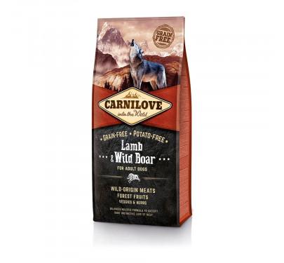 Carnilove Lamb & Wild Boar Adult 1.5kg
