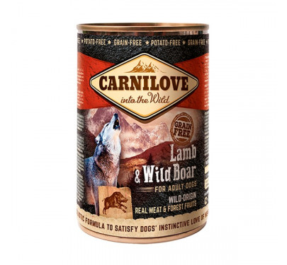 Carnilove Can Adult Dogs Lamb & Wild Boar 400gr