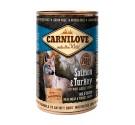 Carnilove Can Adult Dogs Salmon & Turkey 400gr