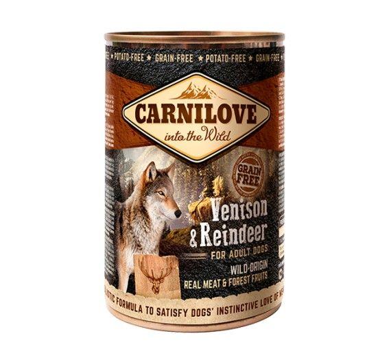 Carnilove Can Adult Dogs Venison & Reindeer 400gr