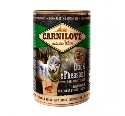 Carnilove Can Adult Dogs Duck & Pheasant 400gr