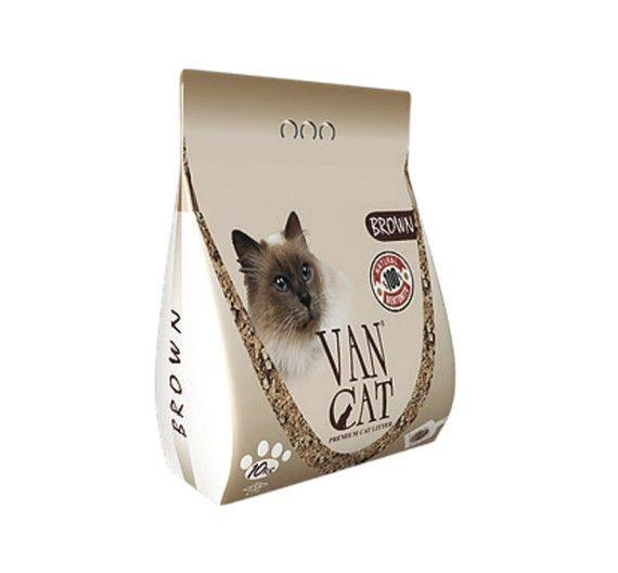 Χοντρή Άμμος Γάτας Van Cat Brown Clumping