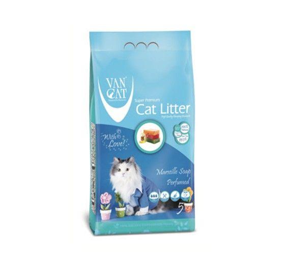 Ψιλή Άμμος Γάτας Van Cat Marseille Soap Clumping