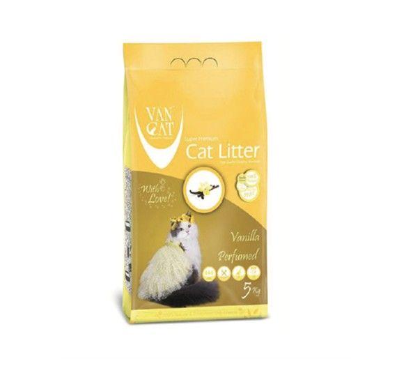 Ψιλή Άμμος Γάτας Van Cat Vanilla Clumping