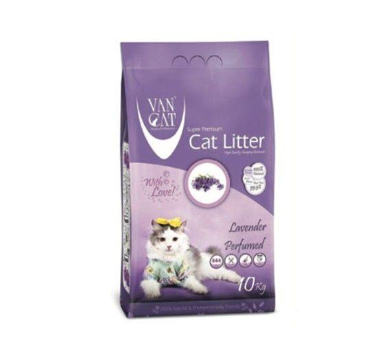 Άμμος Γάτας Van Cat Lavander Clumping