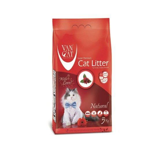 Ψιλή Άμμος Γάτας Van Cat Natural Clumping