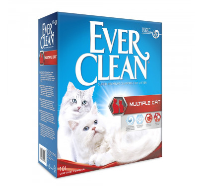 Everclean Multiple Cat 10Lt