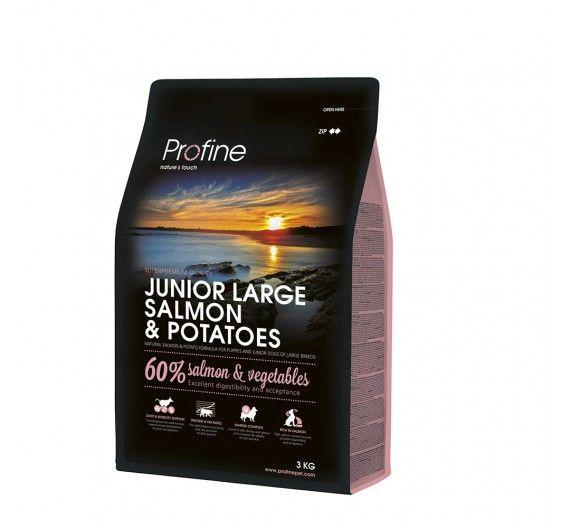 Profine Dog Junior Large Breed Salmon & Potatoes 3kg